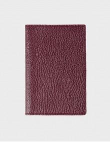 Обложка на паспорт сливовая