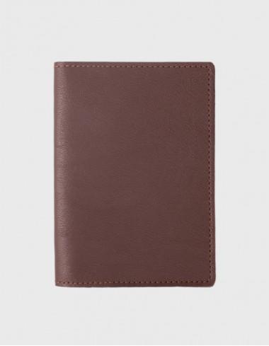 Обложка на паспорт мокко