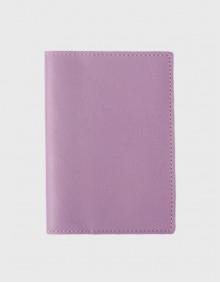Обложка на паспорт лиловая