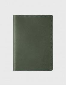 Обложка на паспорт оливковая