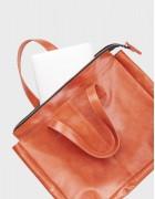 Сумка M bag рыжая