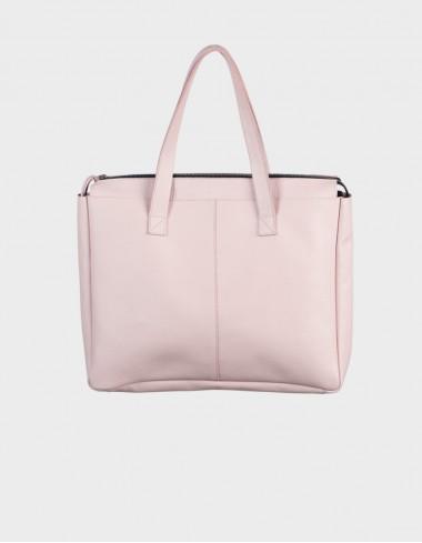 Сумка M bag пудровая